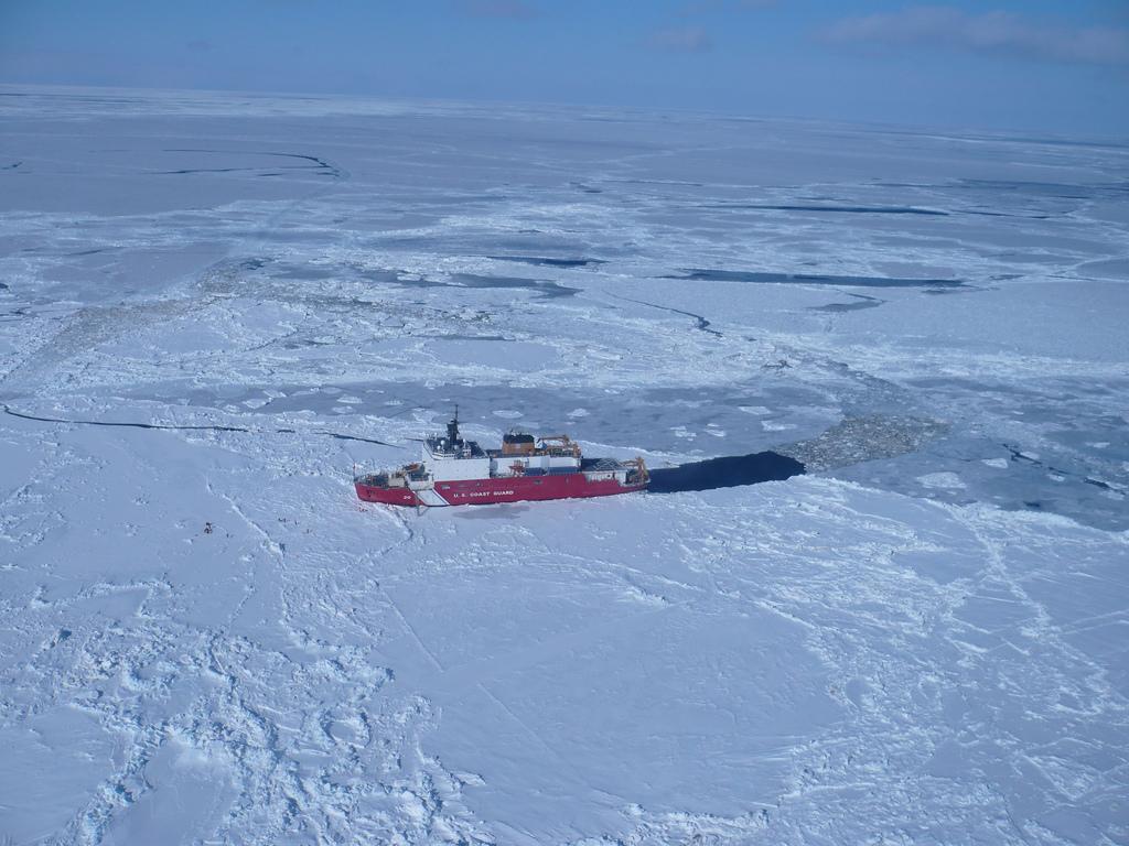 Брукс,Антарктика,ледокол, Два месяца на борту ледокола за пять минут
