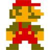 Марио пиксель арт