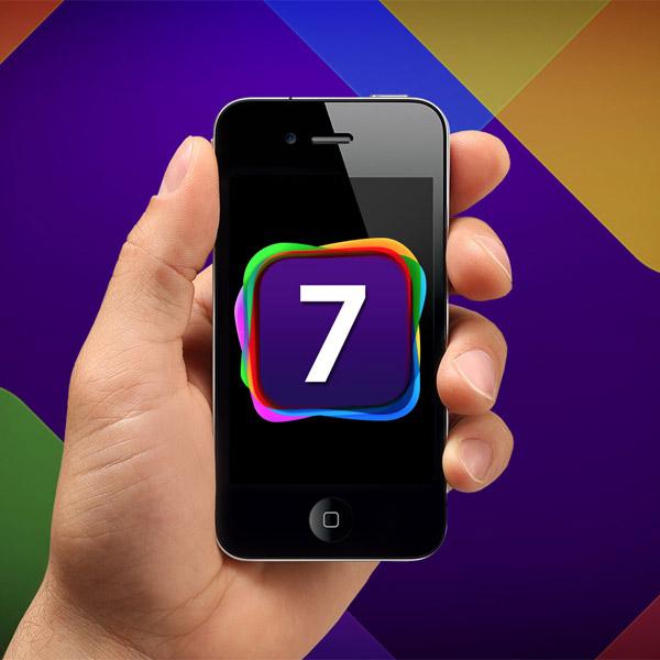 Apple, iOS, iOS 7, дизайн, скевоморфизм, iOS 7 показан в совершенно новом облике
