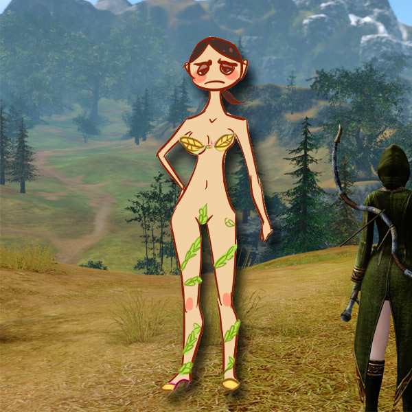 MMORPG, броня, девушки, RPG, Самая нелепая броня в MMORPG всегда достается девушкам