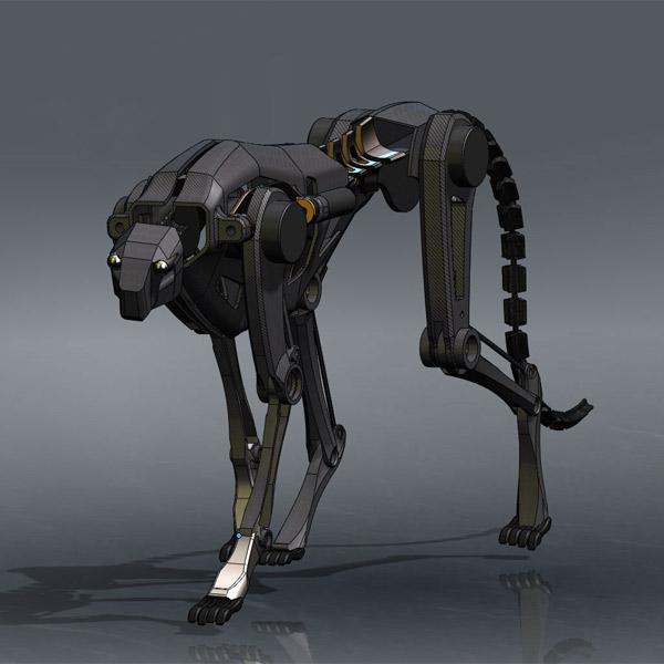 MIT cheetah, DARPA, бионический робот, роботехника, Бионический робот бьет рекорды