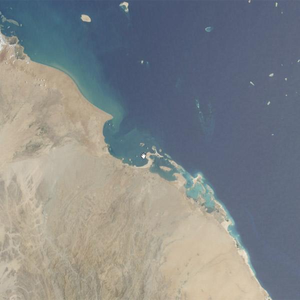 NASA, спутниковые снимки, панорама, gigapan, Спутник сделал 9 656-километровую панорамную фотографию с орбиты