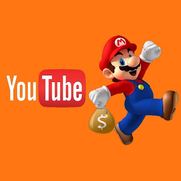 Nintendo, YouTube, реклама, Nintendo заявляет о праве собственности на видео фанатов-геймеров на YouTube