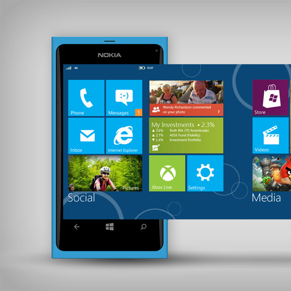 Windows Phone,BlackBerry,Android,смартфоны,мобильная OS, Windows Phone отодвинул BlackBerry на третье место в рейтинге ОС.