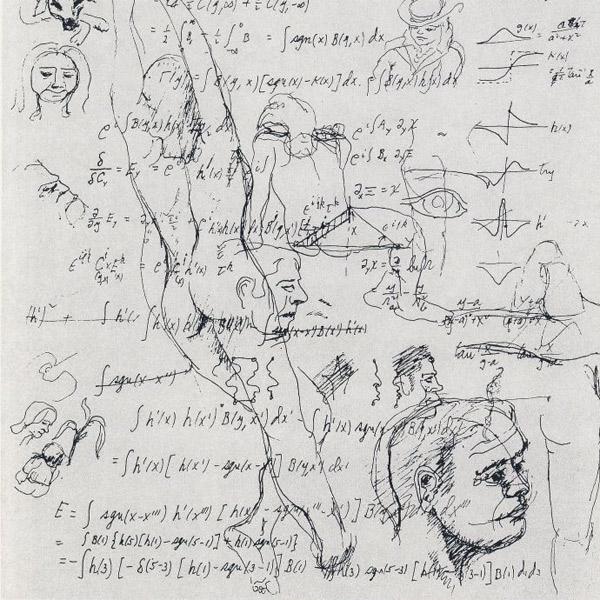 Ричард Фейнман, искусство, Неожиданные работы физика Ричарда Фейнмана