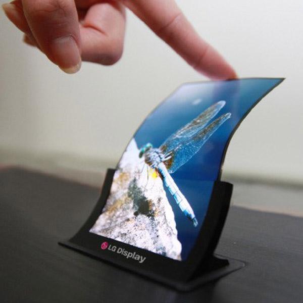 LG, гибкий экран, OLED, LG раскроет секрет гибкой панели на SID 2013