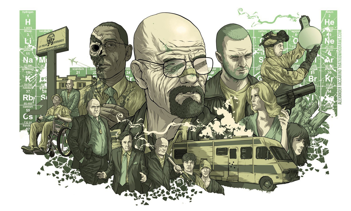 Во все тяжкие, Breaking Bad
