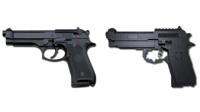 Beretta 92 из LEGO