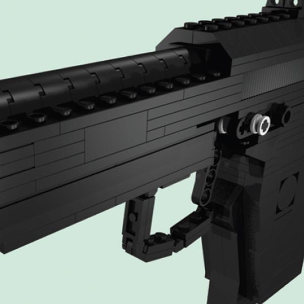 LEGO,пистолет,оружие, Соберите собственный невероятно реалистичный пистолет из LEGO