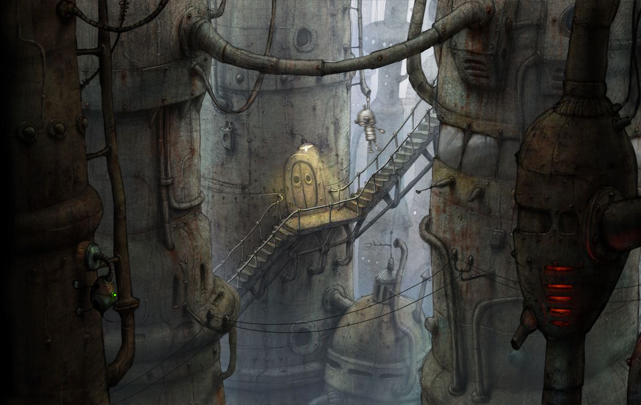 Машинариум Machinarium Игра