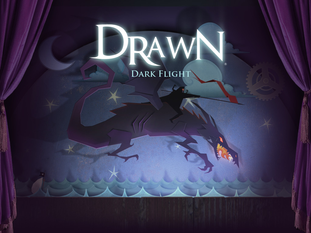 Drawn Dark Flight
