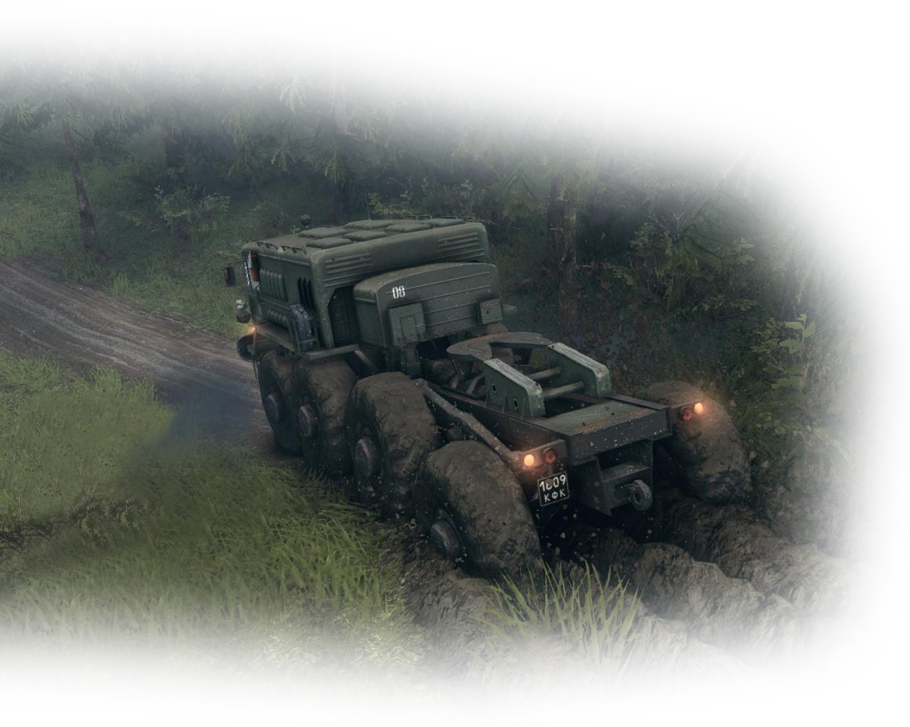 Spintires скриншот МАЗ