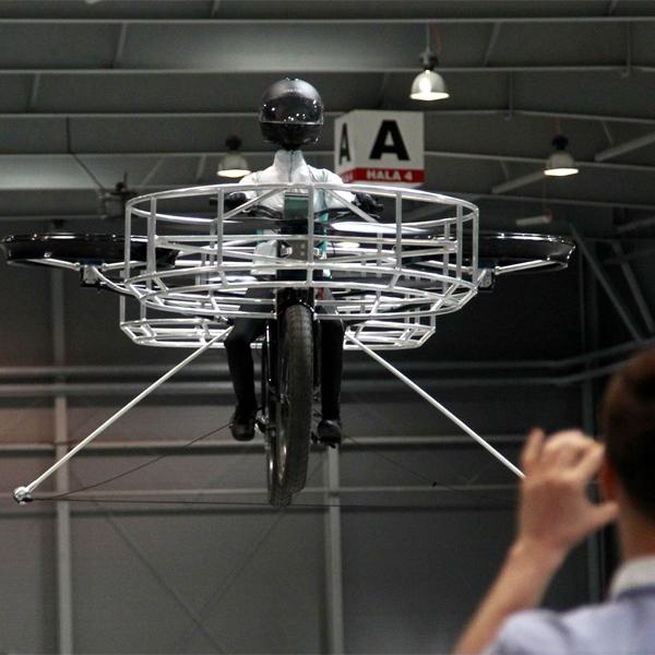 велосипед,концепт,вертолет, Велосипед-вертолет
