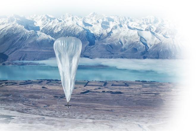 Project loon интернет на воздушных шарах