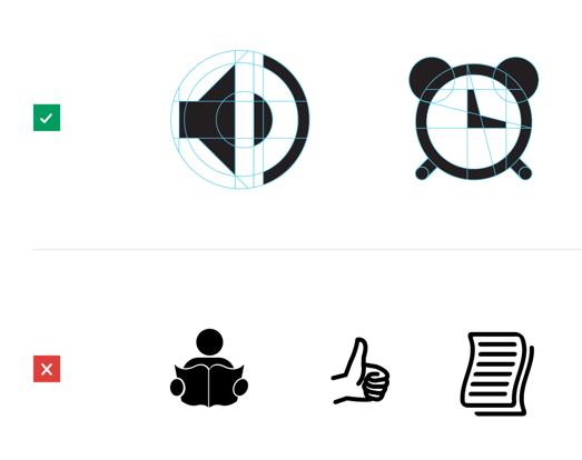 Google иконки гайдлайн
