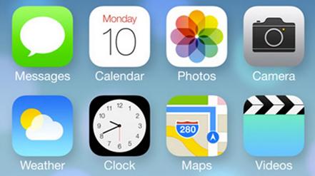 Apple iOS7 иконки