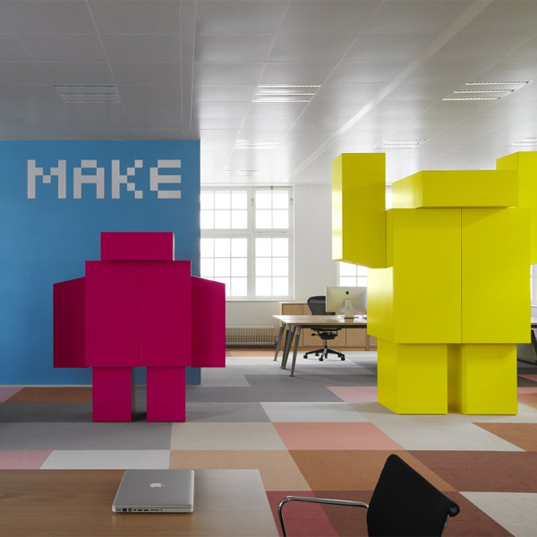 Google,творчество,работа,мотивация, Как крупные бренды создают творческую атмосферу в компании