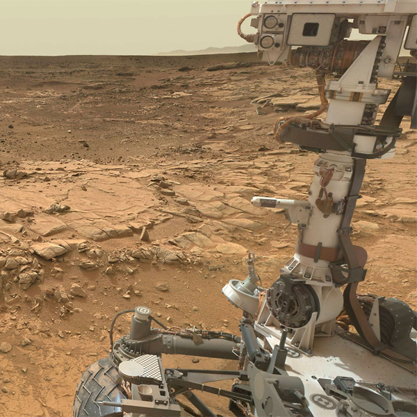 Curiosity, big data, Curiosity создал панораму Марса размером в несколько миллиардов пикселей