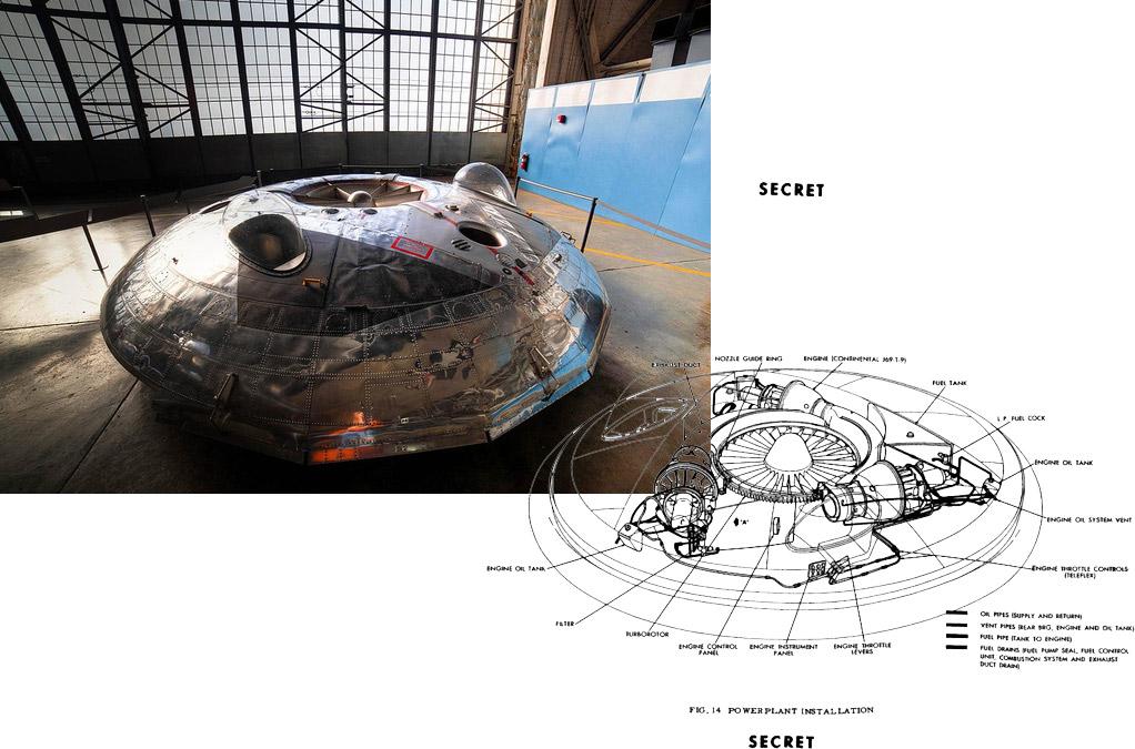 НЛО VZ-9 Avrocar