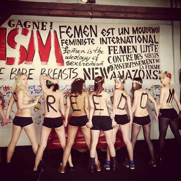 соц. сети, цензура, Facebook заблокировал основную страницу сообщества FEMEN
