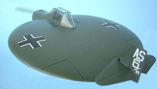 Sack AS-6 летающая тарелка Люфтваффе