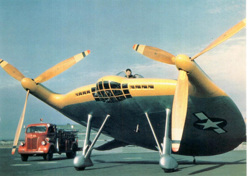 Vought V-173, Летающий Блин