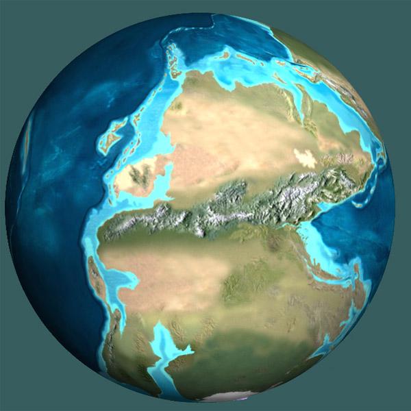 зона субдукции, Геология, Земля, Пангея, National Geographic: через 220 миллионов лет Земля снова объединится в «Пангею»