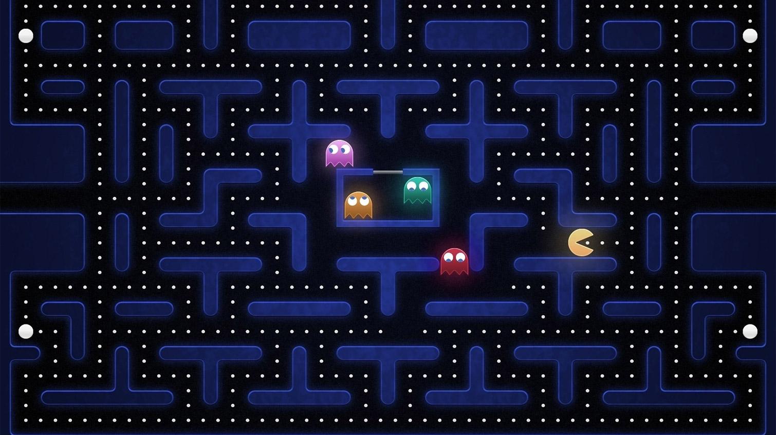 Атмосферный PacMan от первого лица на Unity