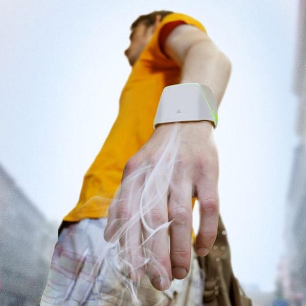 концепт, очистка воздуха, Hand tree, Electrolux, Hand tree - браслет для очистки воздуха, проект российского студента