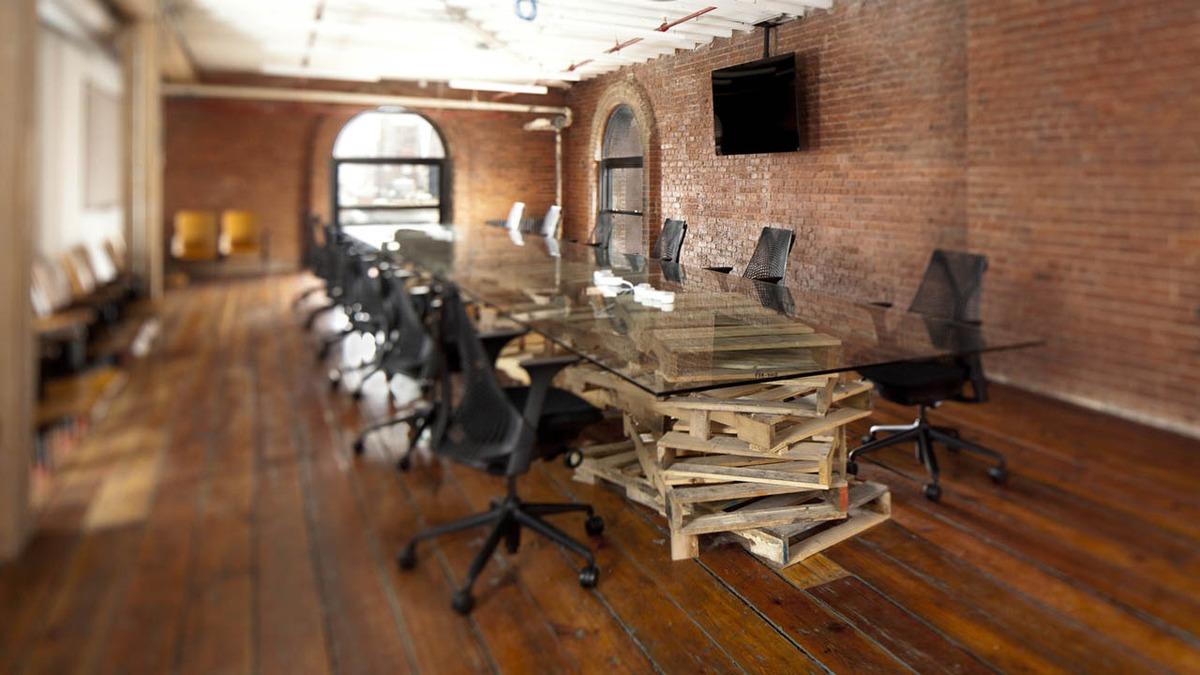 Quirky офис интерьер