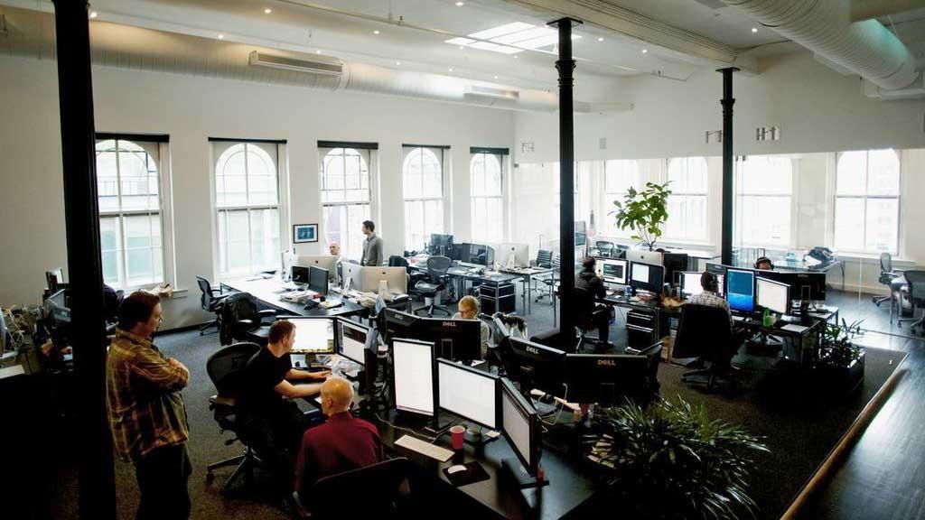 Squarespace офис интерьер