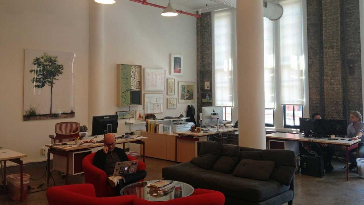 Betaworks офис интерьер