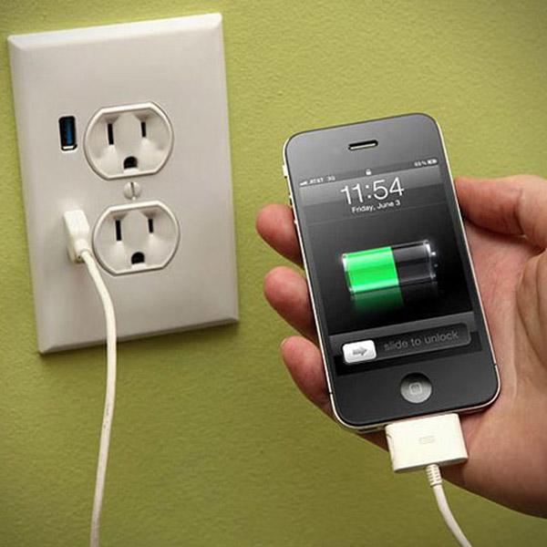 смартфоны, аккумулятор, Для того чтобы батарея прослужила дольше, не заряжайте ваш телефон до 100%