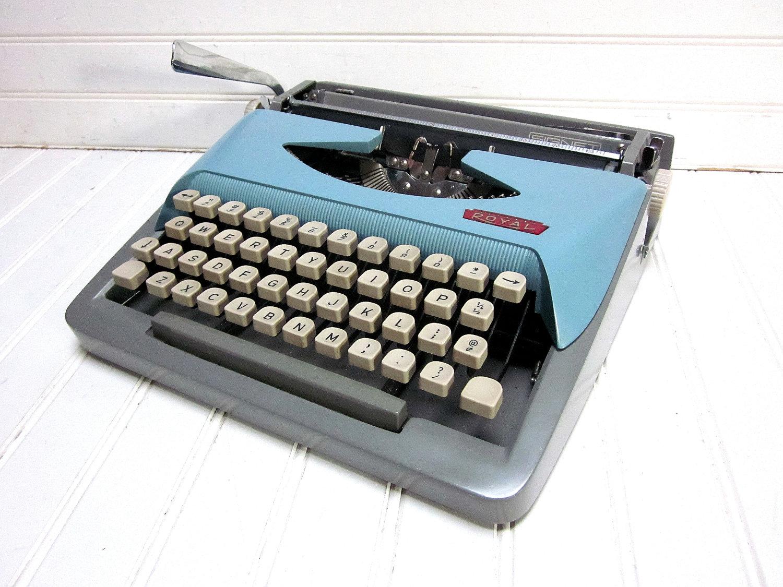 пишущяя машинка Royal Typewriter