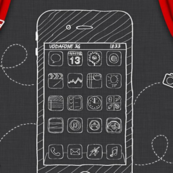 IOS, Apple, дизайн, UI, Как ваши иконки будут выглядеть в iOS 7?