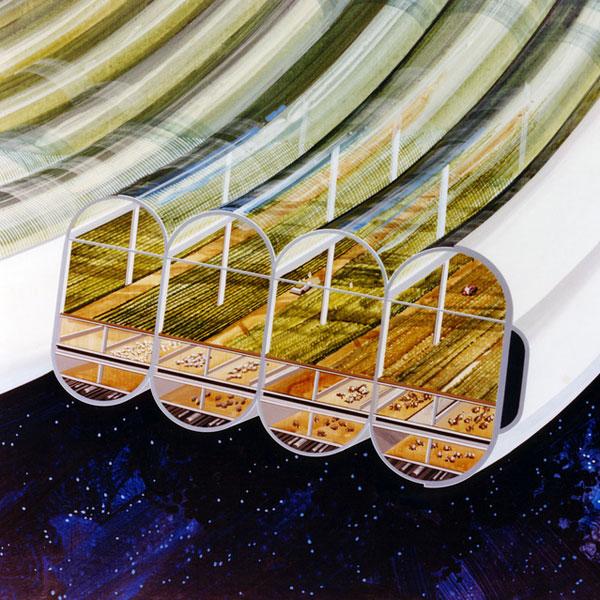NASA,концепт,70-ые, Концепция психоделических космических станций 1970-х годов