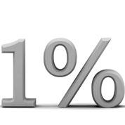 один процент пользователей