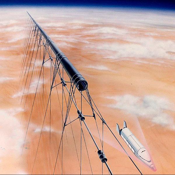 Slingatron, космос, Kickstarter, В будущем мы сможем выходить в космос на рельсах