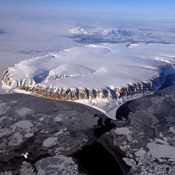 Арктика,NASA, Потрясающий воздушный тур по Арктике