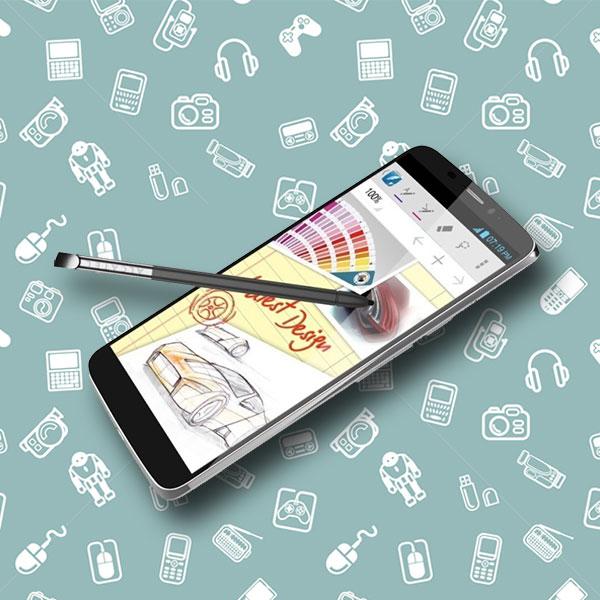 Alcatel, смартфоны, Alcatel представила смартфон с двумя экранами