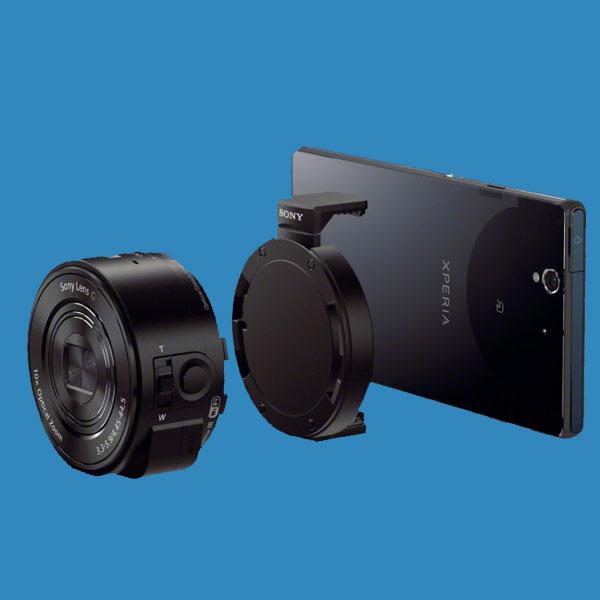 Sony, смартфоны, камера, Камера-линза от Sony подходит для любого смартфона
