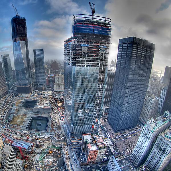 строительство, Как строили Всемирный торговый центр