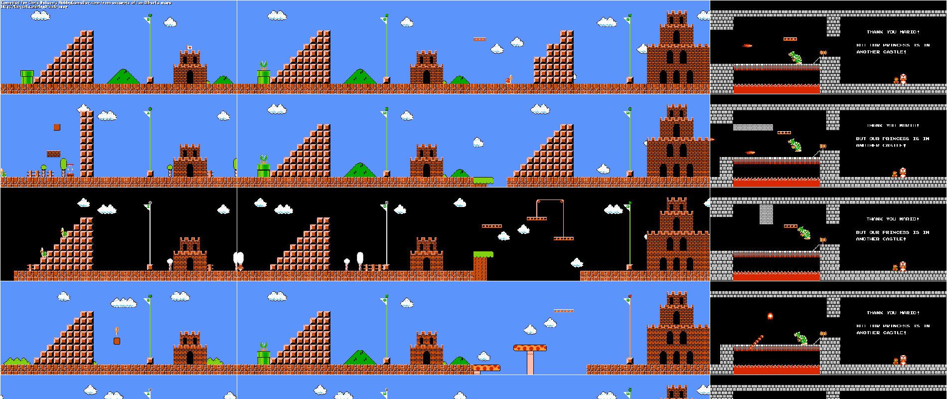 974 гонки на время в Super Mario Bros. одновременно