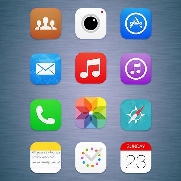 Apple, iOS, iOS 7, Apple тестирует обновления iOS7