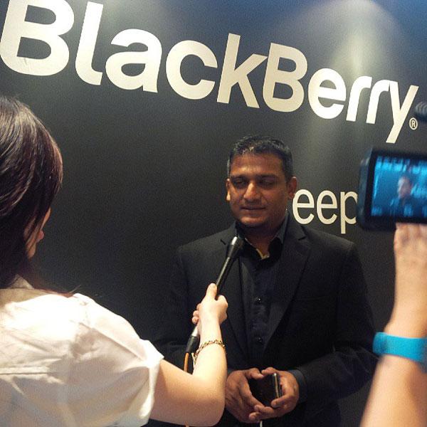 BlackBerry,смартфоны, BlackBerry Z30 — большой и мощный