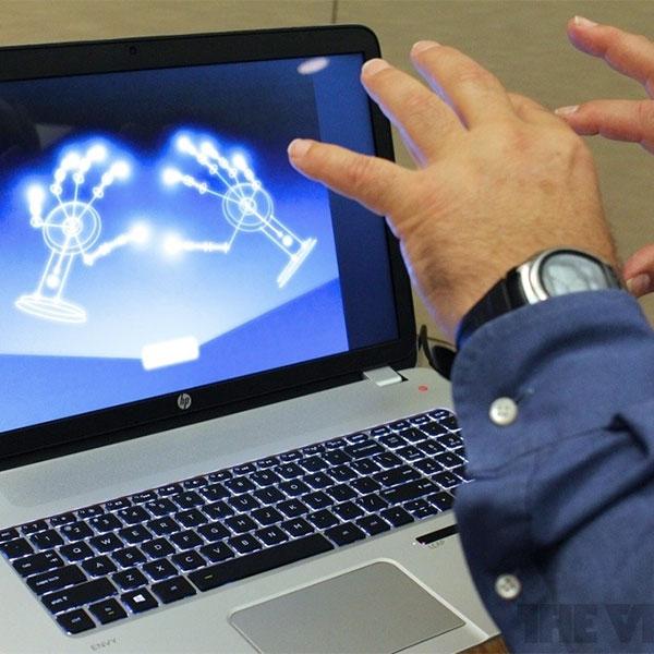 Leap Motion, HP, ноутбуки, HP выпустила «волшебный» ноутбук
