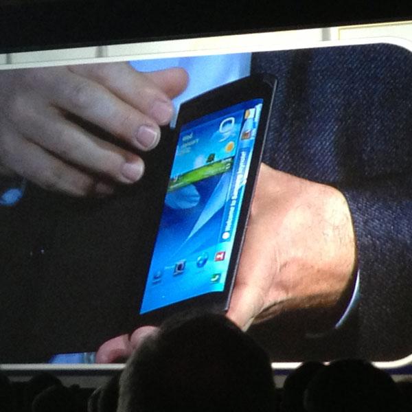 Samsung, GALAXY Note 3, гибкий экран, Samsung готовит что-то новенькое