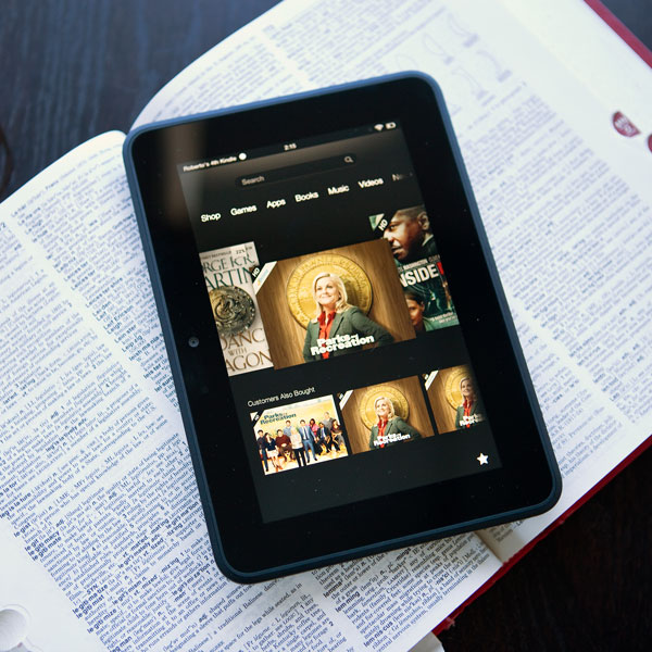 Amazon,Kindle, Amazon представила новые планшеты