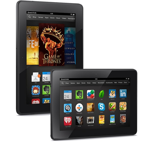 amazon kindle fire hdx планшет