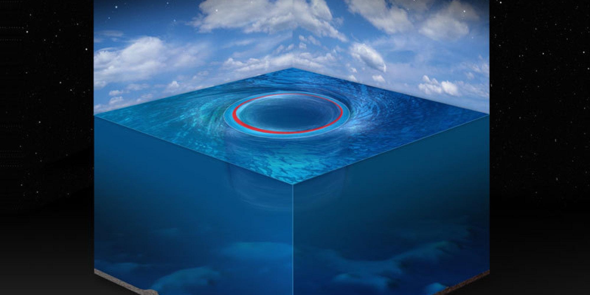 чёрная дыра в океане мужское термобелье мужское
